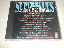 CD VARIOUS Superblues Vol. 1 All-Time Classic Blues Hits - STAX USA 1990 VG+