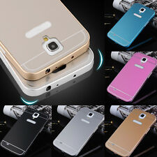 Luxury Aluminum Metal Bumper + Back Case Cover For Samsung Galaxy Mega 6.3 i9200