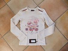 Tee Shirt CATIMINI thème un coeur en hiver taille 10 ans couleur beige
