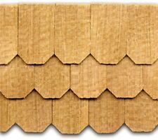"Dollhouse Roofing Hand Split Cedar Hex Shingles 300 Pcs 1"" Scale #CLA70258"
