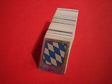 Panini Bayern sammelt Bayern - komplett alle 324 Sticker - OHNE Album
