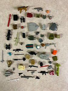 GIJOE COBRA Vintage 1982 - 1989  Figure Accessories Weapons Guns Parts LOT #1
