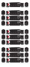 Athearn RTR CP Rail Bathtub Gondola w/Coal Load - 10 Car Bundle - HO
