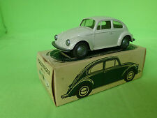 WIKING 113 VW KAFER GREY-WHITE 1:40 RARE SELTEN IN NEAR MINT CONDITION IN BOX