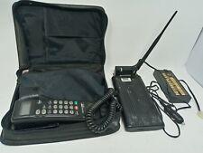 VTG 90s Motorola Cellular Mobile Phone w/ Transmitter and Case SCN2395A