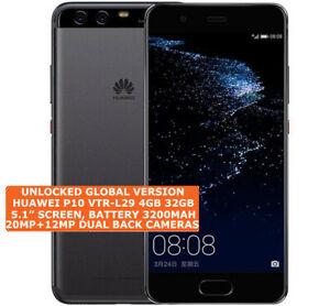 HUAWEI P10 VTR L29 Dual Sim Unlocked 4gb/32gb Octa Core Android LTE Smartphone