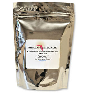 OXALIC ACID 99.6% 3 Lb. Deck, Crystals, Metal Cleaning- Rust Removal- FREE SHIP