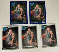 2018-19 Optic Donte DiVincenzo 5 ct RC Rated Rookie Lot Blue Velocity Bucks #164