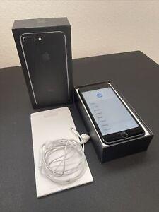 Apple iPhone 7 plus - 128gb Jet Black Unlocked