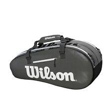 Wilson Super Tour 2 Comp Small 6 Pack Black/Grey Tennis Racquet Bag