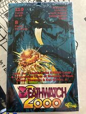 DEATHWATCH 2000 FACTORY SEALED TRADING CARD BOX CASE CONTINUITY COMICS CLASSIC