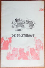 Marten Toonder - De spliterwt - illegal publication - 19?? - Rare
