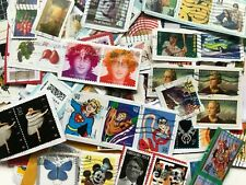 More details for 400g america/usa/american postage stamps franked/cancelled on paper hundreds!
