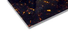Pickguard sheet ABS, Tortoise shell Ply (W/B/W/TS) 450x300x2.5 mm