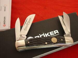 """Boker Tree Brand Germany 3-5/8"""" Bone 4 Blade Congress Knife MINT IN BOX"""