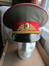 RARE Soviet Army Russia USSR GENERAL Uniform HAT!! Фуражка Генералa,size 58 !