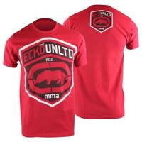 Ecko MMA Mens Force T-Shirt - Red