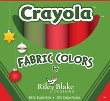 10 Fat Eighths Box-Crayola Colors-Riley Blake-Free Pattern Download-Table Runner