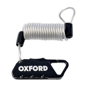 Bike / Helmet Pocket Lock. Compact Cafe Lock. Combination Lock - Black (LK391)