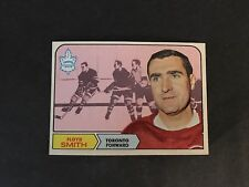 1968/69  TOPPS HOCKEY HIGH GRADE SET BREAK  #130   FLOYD  SMITH    EX-MT+