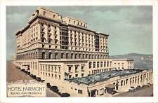 San Francisco, Hotel Fairmont, Nob Hill