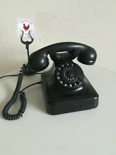 Bakelite Pyramid Rotary Telephone Siemens BELL Belgique very Rare Antique