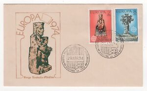 1974 ANDORRA First Day Cover EUROPA CEPT ISSUES La Vieja