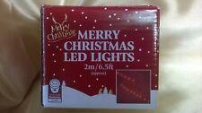 """MERRY CHRISTMAS"" LED LIGHTS - 2M / 6.5FT"