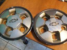 TWO CHEVY 5 LUG CENTER CAPS