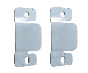 1 x Pair / Set of Flush Mount Bed Headboard Hanging wall interlocking Brackets