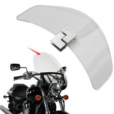 1PC Motorcycle Windshield Adjustable Clip Extension Spoiler Windshield Deflector