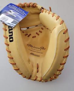 "New Mizuno Pro Limited Edition Catchers Mitt glove Major league Quality 33.5"""