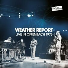 WEATHER REPORT - Live In Offenbach – Rockpalast 1978 - 2 CD + DVD Madeingermany