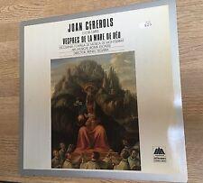 LP Escolania de Montserrat Joan Cererols Vespres de la Mare Chorale Boys Choir *