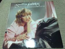 """ABBA  AGNETHA FALTSKOG SPANISH 12"""" LP SPAIN EPIC 83 - GOLD PROMO STAMPED + INNER"""