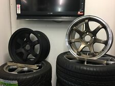 Axe Blade Alloy Wheels 15x7 4x100 Et18 Concave Dished Drift Stanced