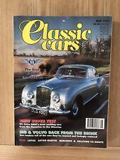 CLASSIC CARS--MAY 1994 inc VOLVO P1800E + MERCEDES 450 SEL + LOTUS MK V1