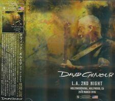 DAVID GILMOUR - L.A. 2ND NIGHT. 2CD. JAPAN
