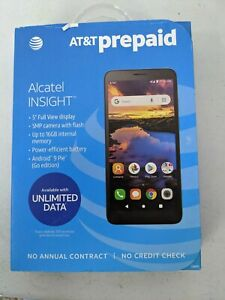 AT&T Alcatel Insight (16 GB) Prepaid Android Smartphone - NEW, SEALED