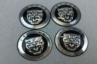 4Pcs Car Wheel Center Hub Cap Covers emblem sticker 65mm Fit for Jaguar