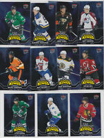 2016-17 Fleer Showcase Ultra Scoring Kings 11 Card Lot Benn Panarin NHL Hockey