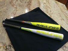 2 Rawlings youth big barrel bats 16/27