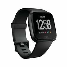 Fitbit Versa Fitness Smartwatch LARGE - BLACK