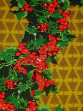 LulaRoe Leggings OS - Retro Christmas TREES & Holly -  NEW Unicorn 🦄