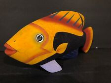(1) Tropical Salt Water Deep Sea Fish Display 12Inch Home Good 1