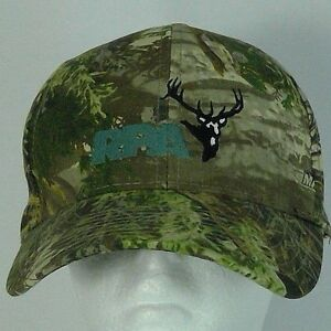 Realtree Max-1 baseball cap adjustable strap embroidered RPA & buck head