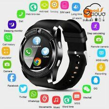 NEW! V8 Bluetooth Smart Watch SIM Anti-lost Touch Screen Camera For Android IOS