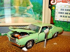 1970 CHEVROLET CHEVELLE SS 454 LIMITED EDITION 1/64 GRAY GREEN M2 60'S MUSCLE
