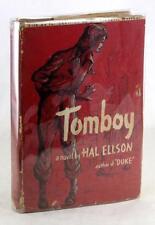 JUVENILE DELINQUENT PULP NOVEL FIRST EDITION 1950 TOMBOY HAL ELLSON HC w/DJ