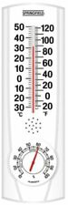 Taylor 90116 Springfield 90116 Plainview I/o Thermometer & Hygrometer